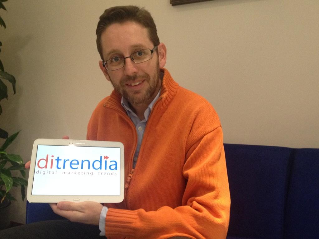 Fernando Rivero CEO de Ditrendia