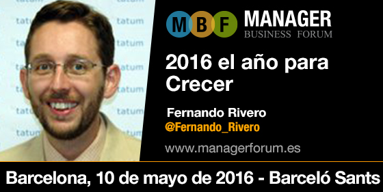 Fernando Rivero Manager Forum Barcelona