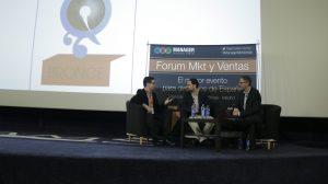 En la imagen, de Izquierda a derecha, Carlos Molina, Miguel López-Guzman y Fernando Rivero en un momento de la mesa redonda