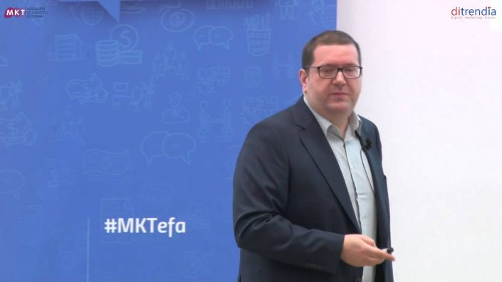 Ponencia de Javier Roldán, Director de Innovación TI de BANKINTER en el MKTefa
