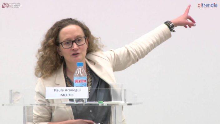 Ponencia de Paula Aranegui, Business Developer Manager - España y Portugal de MEETIC en el MKTefa