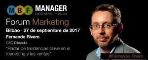Fernando Rivero Manager Forum Bilbao