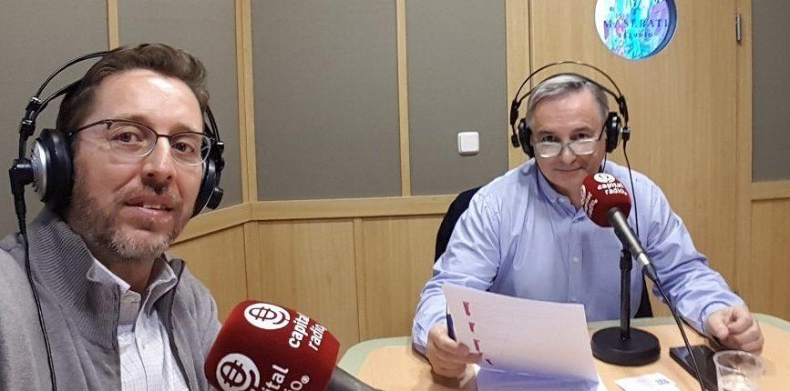 Juan Manuel Urraca y Fernando Rivero en Capital Radio