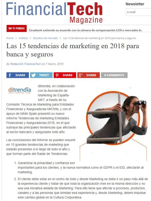 ditrendia en FinancialTech Magazine