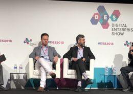 Scott Brinker, Shane Shevlin, Nino Carvalho y Fernando Rivero en el DES 2018