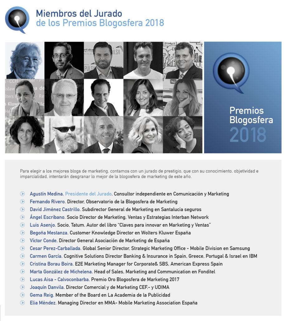 Jurado Premios Blogosfera
