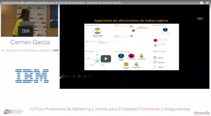 Implicaciones del marketing cognitivo para la función de marketing - Ponencia de Carmen García