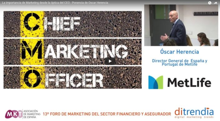 La importancia de Marketing desde la óptica del CEO - Ponencia de Oscar Herencia
