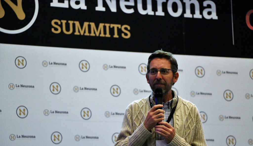 Fernando Rivero en la Neurona Summit Clientes Madrid