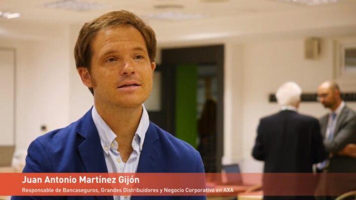 Testimonial de Juan Antonio Martínez Gijón, Responsable de Bancaseguros, Grandes Distribuidores y Negocio Corporativo de AXA
